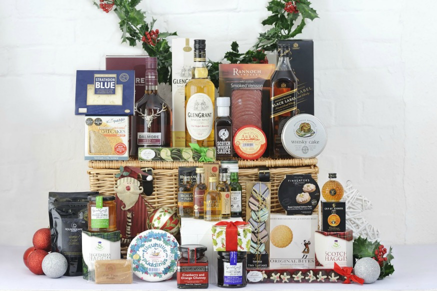Christmas whisky Hamper