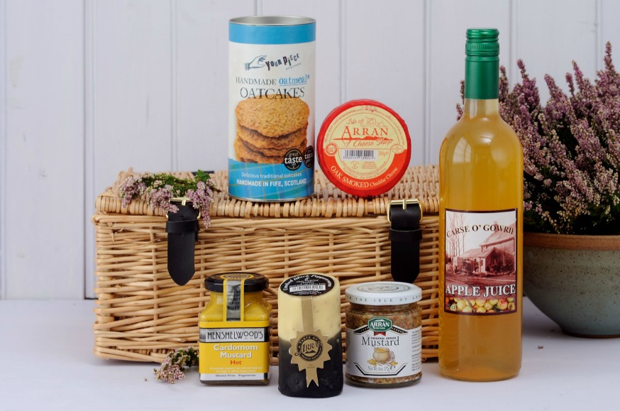 scottish cheese hamper