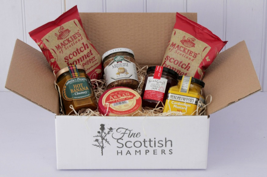 scottish spicy hamper