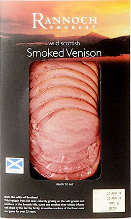 smoked venison