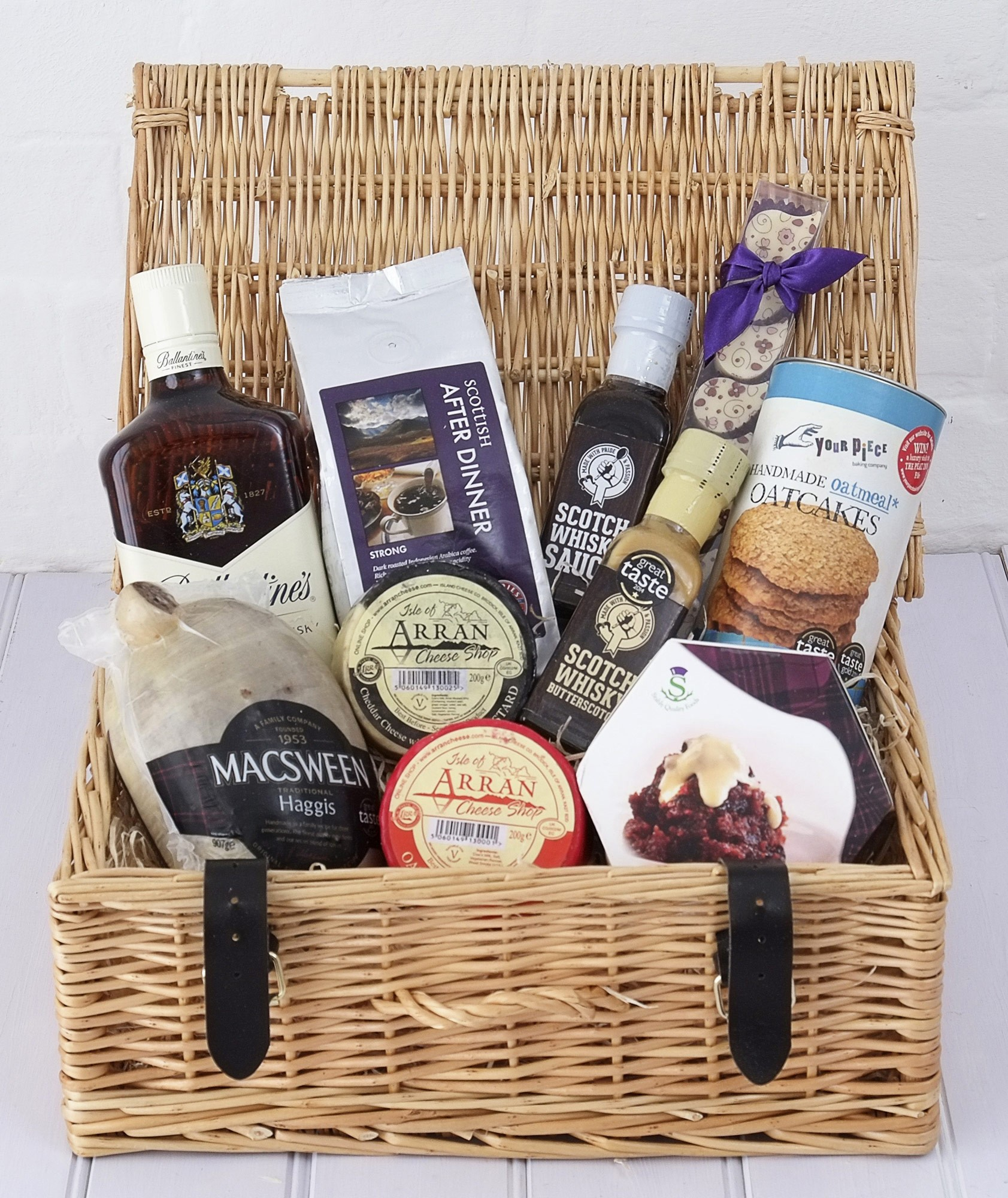 BURNS NIGHT SUPPER HAMPER