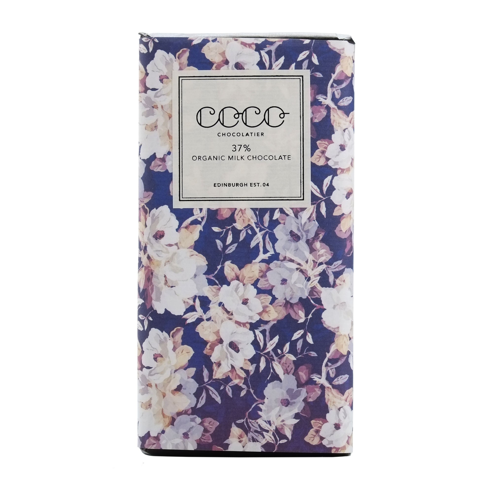 COCO CHOCOLATIER ORGANIC MILK CHOCOLATE BAR