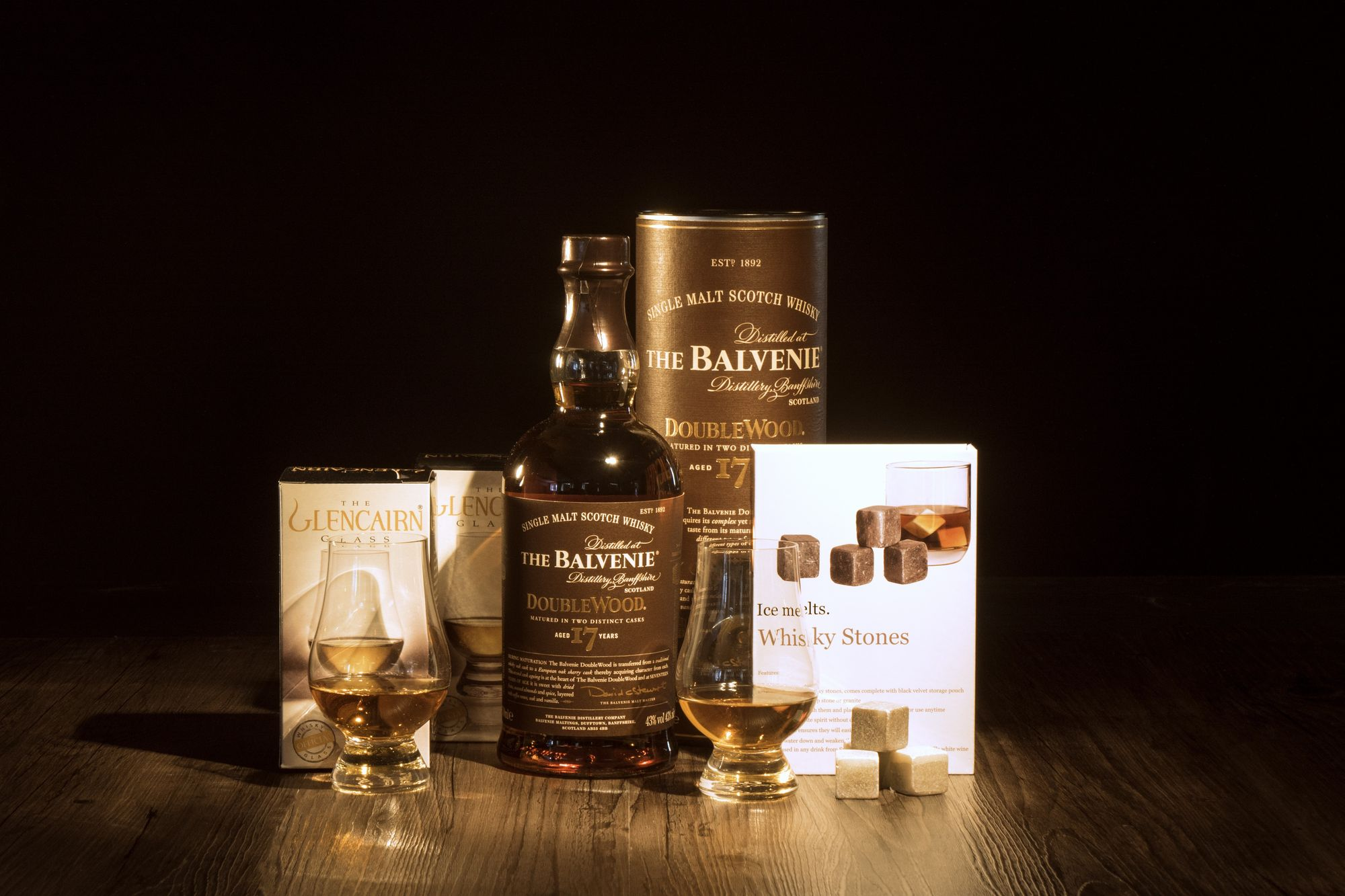 on the rocks balvenie