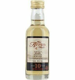 Arran Malt 10 Year OId Whisky Miniature 5cl