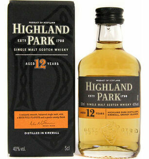 Highland Park Whisky Miniature 5cl