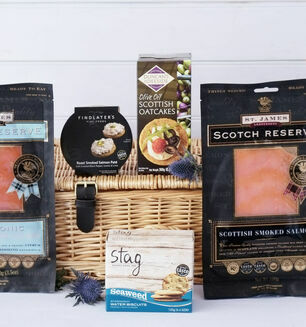 The Scottish Smoked Salmon Hamper