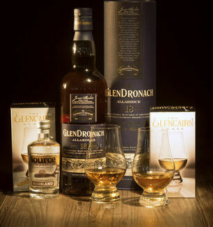 GlenDronach 18 Year Old Whisky Hamper