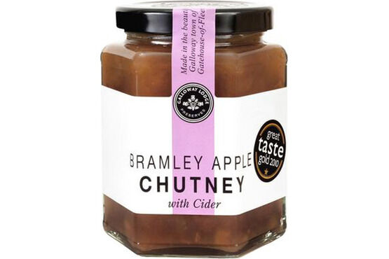 Galloway Lodge Bramley Apple with Cider Chutney
