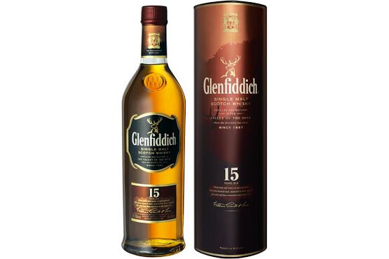 Glenfiddich 15 Year Old Whisky 20cl